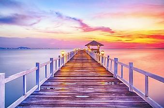Выход к морю на закате (Каталог номер: 05156)