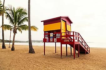 Спасательная станция на пляже (Каталог номер: 05171)