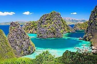Лагуна с островами, Филиппины (Каталог номер: 05172)