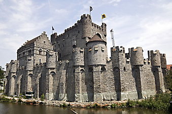 Крепость, Гент, Бельгия. (Код изображения: 08005)
