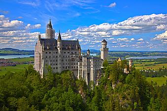 Замок. (Код изображения: 08009)