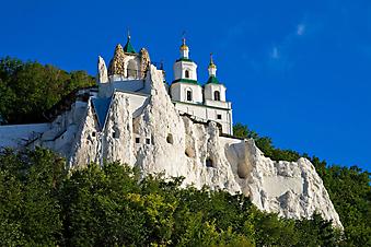 Храм на скале. (Код изображения: 08012)