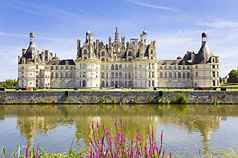 Замок Шамбор, Франция. (Код изображения: 08013)