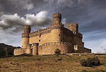 Замок Мансанарес-эль-Реаль. (Код изображения: 08023)