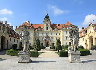 Замок Валтице, Чехия. (Код изображения: 08026)