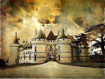 Замок Шомон. (Код изображения: 08028)