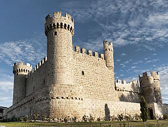 Средневековая крепость. (Код изображения: 08029)