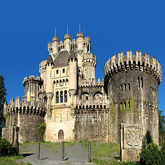 Красивый замок, Испания. (Код изображения: 08035)
