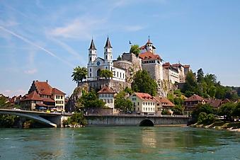 Крепость Аарбург, Цюрих (Каталог номер: 08038)