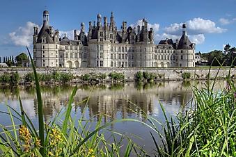 Замок Шамбор во Франции (Каталог номер: 08042)