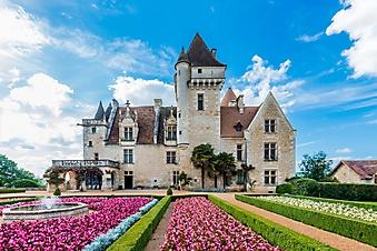 Роскошный сад замка в Миланде (Каталог номер: 08051)
