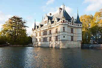Замок Азей-ле-Ридо на закате (Каталог номер: 08056)