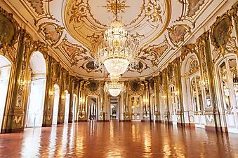 Гостиная дворца Келус, Португалия (Каталог номер: 08058)