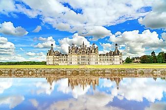Облака над замком Шамбор (Каталог номер: 08061)