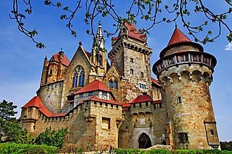 Крепость Кройценштайн, Австрия (Каталог номер: 08067)