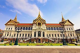 Панорамный вид на дворец в Тайланде (Каталог номер: 08069)