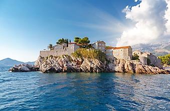 Крепость на острове, Черногория (Каталог номер: 08071)