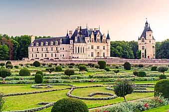 Сад замка Шенонсо, Франция (Каталог номер: 08078)